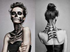sexy skeleton makeup - Google Search