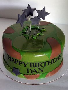 Army cake Birthday Ideas Pinterest Army cake Cake and