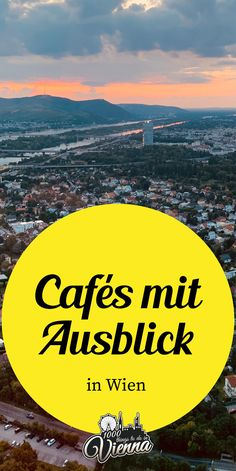 Wir lieben jede Aussicht auf Wien! Am Besten aber hält man dazu noch einen köstlichen Kaffee in der Hand und sitzt gemütlich in einem schönen Café. Wir verraten euch, wo es diese Traum-Kombination gibt. Restaurant Bar, Open Air, Vienna, Outdoor, Beach, Water, Restaurants, Coffee, Outdoor Bars