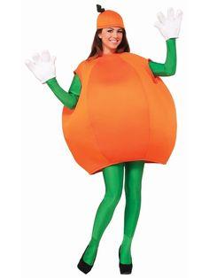 Halloween Adult Orange Costume