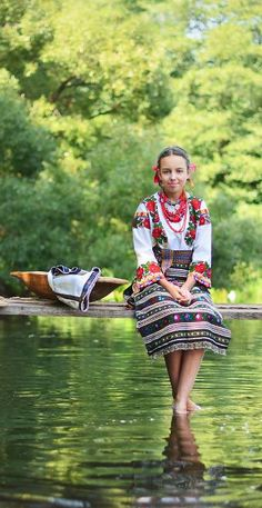 Young Lady from Western Ukraine.                   Photo by Iryna