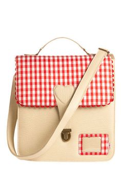 """""""Professional Picnicker Satchel"""" by Blutsgeschwister, $90 at ModCloth. More @Alapuakai Carroll style than my style, I think."""
