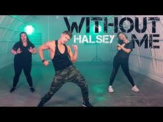 Without Me - Halsey | Caleb Marshall | Dance Workout - YouTube
