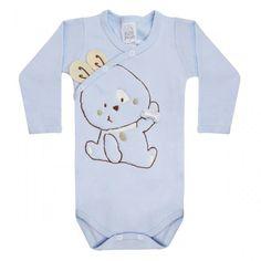 Body Bebê Menino Orelhinhas - Patimini :: 764 Kids Loja Online, Roupa bebê e infantil !