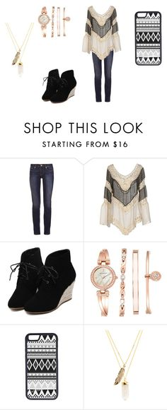 """""""walk on avenue"""" by adriana03182003 ❤ liked on Polyvore featuring Tory Burch, Care Of You, WithChic, Anne Klein, CellPowerCases and Privileged"""