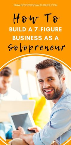 One-person businesses are becoming more common in the United States and around the globe. The funniest thing is that when a solopreneur starts their business, they strive to at least make for a living. Whether you have an idea or just a dream, here's your guide to building a 7-figure business as a solopreneur. #personalplanner #digitalplanner #planwithme #ipadplanner #planneraddict #productivity #solopreneur #entrepreneurmotivation #selfimprovement #budgetplanner Entrepreneur Ideas, Entrepreneur Motivation, Apps For Bloggers, Productivity Apps, Never Stop Learning, Daily Routines, Time Management Tips, Investing Money, Earn Money Online