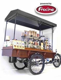 Coffee Carts, Coffee Bike, Coffee Trike, Espresso Bike, Coffee Tricycle, Astoria Coffee Machines, Fracino Coffee Machines,