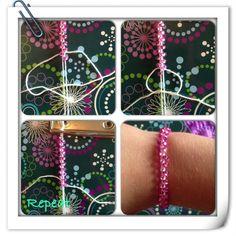 DIY beaded bracelet!