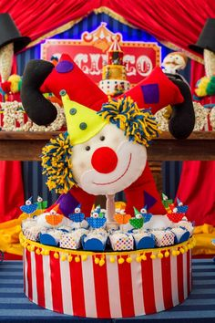 Festa Infantil | O Circo | Vestida de Mãe | Blog sobre Gravidez, Maternidade e Bebês por Fernanda Floret