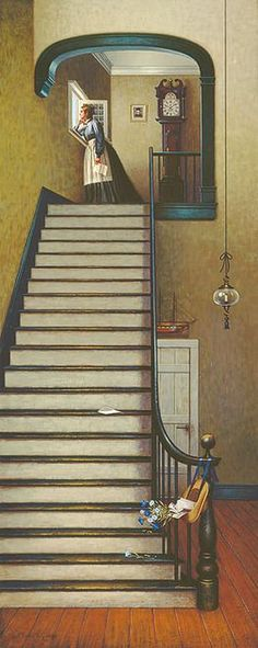"""Limited Edition CanvasImage size:12""""""""w x 30""""""""h.Edition Size: 200Charles Wysocki was a masterful storyteller and everything he has put into this painting contributes to the heartfelt story of separa"""