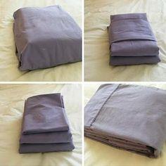 Cinque modi per riporre le lenzuola
