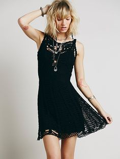 Free People Macrame Mini at Free People Clothing Boutique