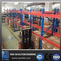 stacking rack type steel plate storage rack with adjustable shelf
