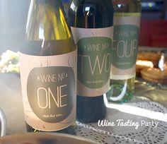 Wine Tasting Party ideas - MoreDesignPlease