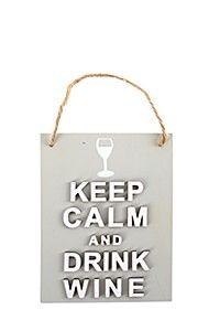 KEEP CALM WINE BAR SIGN