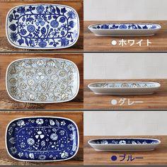 波佐見焼フラワーパレード長皿※BOXなし和食器