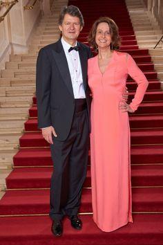 KURIER-Chefredakteur Helmut Brandstätter mit Ehefrau und ORF-Redakteurin Patricia Pawlicki in der Wiener Hofburg, ROMY-Gala 2014 (Foto: Starpix/ Alexander Tuma)