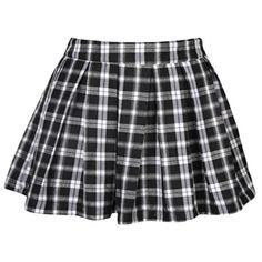 Off Shoulder Top With Checkered Skirt   Black skirt   Pinterest ...