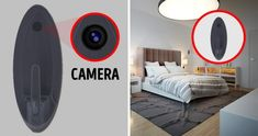 """11 Suspicious Interior Details That Scream, """"Call The Police Right Now! Strange Noises, Red Led Lights, Arc Lamp, Home Camera, Apartment Complexes, Home Security Systems, How To Slim Down, Wall Hooks, Scream"""