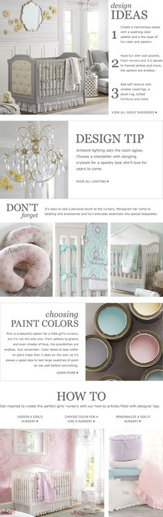 Nursery Ideas & Baby Room Decorating Ideas | Pottery Barn Kids the color that we will try to use for our baby room..soft and natural