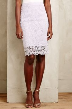1e9a1c8f477 Lace-Veiled Pencil Skirt - anthropologie.com  anthrofave African Inspired  Fashion