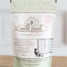 Milk Paint | Arabesque. Say hello to arabesque… Think ballet tights, dusty pink tutus and pale tea roses and you'll have a good idea what to expect from Arabesque. This decidedly feminine color is also surprisingly neutral, making this pink one that goes beyond nurseries. Miss Mustard Seeds Milkpaint