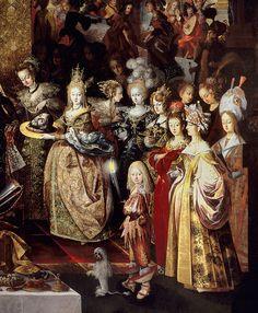 "Beheading of St. John the Baptist and Herod's banquet"" by Bartholomeus Strobel, 1630-33"