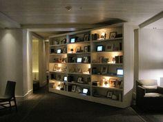 Rotating Bookcase Reveals A Secret Passage