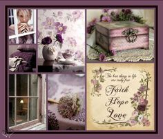 Mood Colors, Colours, Beautiful Collage, Images And Words, Sweet Quotes, Lavender Color, Collages, Sweet Words, Color Of Life