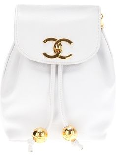 CHANEL VINTAGE Logo Shoulder Bag, have onein black, funny that something this simple looks dated to me. (but still useable :)