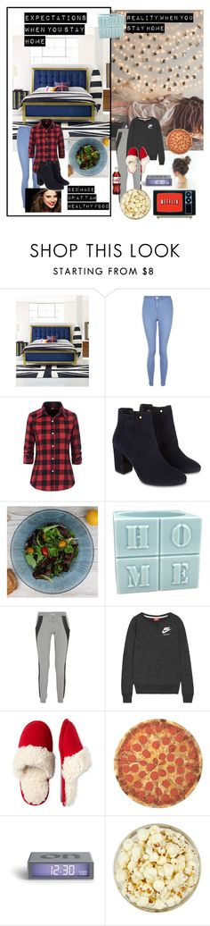 """Expectations vs Reality"" by the-crazy-dog-lover ❤ liked on Polyvore featuring New Look, Monsoon, Dibor, Lot78, NIKE, Dearfoams and Round Towel Co."