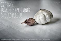 Czosnek obniża poziom cholesterolu. Więc: smacznego :) #czosnek #zdrowie #cholesterol