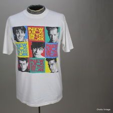 80s NEW KIDS ON THE BLOCK Concert Tour 1989- I HAD THAT T-SHIRT! LOL