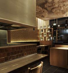 Tsujita L.A. Japanese Restaurant Design by Takeshi Sano