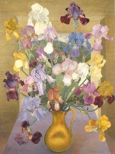 Cedric Morris 'Iris Seedlings' 1943
