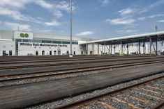 Lightning protection is vital to keeping infrastructure and industrial projects operational. This is the East Rail Maintenance Facility in Whitby, Ontario. Lightning Rod, Ontario, Industrial, Building, Projects, Life, Beautiful, Buildings, Industrial Music