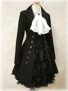 If i could wear victorian steampunk without people glaring, id do it...