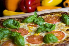 Pizza margherita pizza