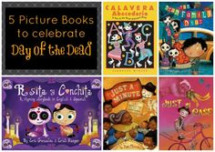 5 Dia De Los Muertos books for kids