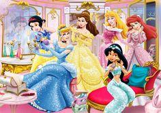 Disney Princesses - Dressing Room by SilentMermaid21.deviantart.com on @deviantART