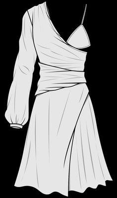Wgsn ss19 silhouette design development deconstructed dress