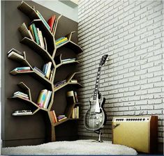 """Креативные полки и шкафы для книг – Интернет-журнал """"Дизайн и интерьер"""""""