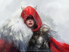 "phrrmp: ""Red Hood by hart-coco "" Female Character Inspiration, Female Character Design, Fantasy Inspiration, Fantasy Characters, Female Characters, Pixar Characters, Throne Of Glass Books, Daenerys Targaryen, Inspirational Artwork"