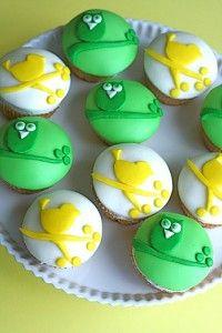 Cup cake pájaro