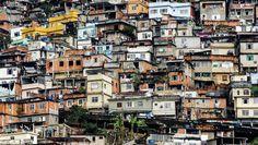 Een wijk in een arm land