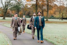 Autumnal Wildflowers and Charlie Brear Separates for a Beautiful Rustic Barn Wedding Tweed Wedding Suits, Rustic Wedding Suit, Country Wedding Photos, Country Barn Weddings, Cowboy Weddings, Outdoor Weddings, Romantic Weddings, Groomsmen Outfits, Groom And Groomsmen