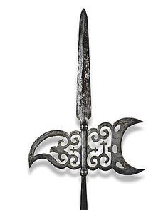Spanish halberd, 18th century.
