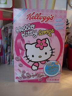 Hello Kitty Cereal by LDEARTS Craft Creations, via Flickr