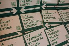 I wish wilmington had enough places to walk to that this would be feasible! What a great idea!