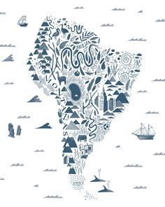 A Map of the World on Behance